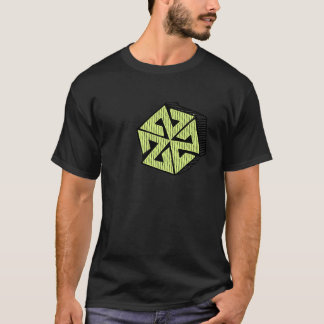 Camiseta AV7 Blockprint por Tyrel Thornton