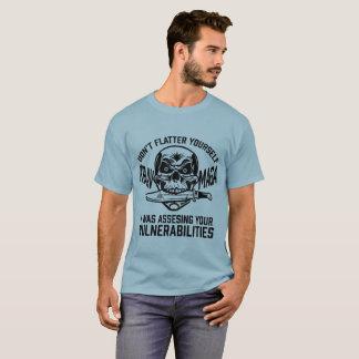 Camiseta Avaliando seu T de Krav Maga das vulnerabilidades