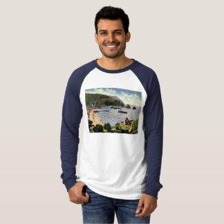 Camiseta Avalon, papai noel Catalina, vintage de Califórnia