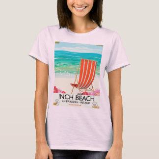 Camiseta Avance a praia, um Daingean - poster de viagens de