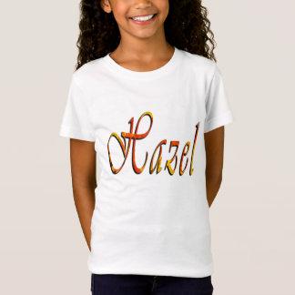 Camiseta Avelã, nome, logotipo, t-shirt do branco das