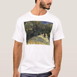 Camiseta Avenida com as árvores de castanha em Arles - Van
