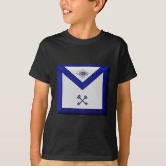 Camiseta Avental maçónico do tesoureiro