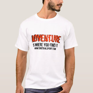Camiseta Aventura 1 do DDS: parte dianteira somente