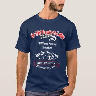 Camiseta Aventura de Alaska do cruzeiro da reunião de