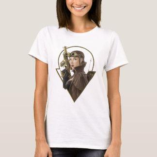 Camiseta Aviador de Steampunk