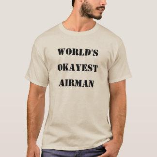 Camiseta Aviador do Okayest do mundo