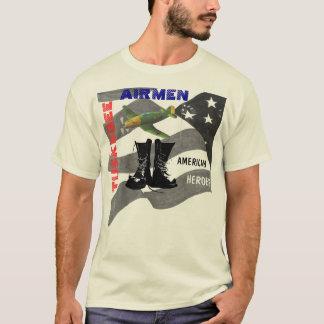 Camiseta aviador do tuskegee