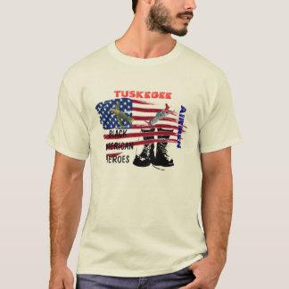 Camiseta aviador na guerra