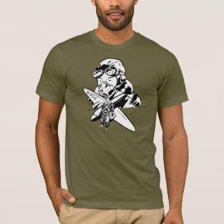 Camiseta Aviador retro