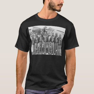 Camiseta Aviadores de Tuskegee, grupo de caudas vermelho