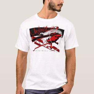 Camiseta Avião Aerobatic ilimitado especial de Pitts