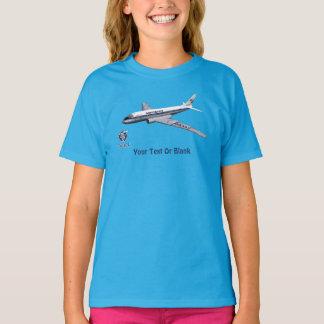 Camiseta Avião de passageiros Tu-104 do Tupolev (Туполев)