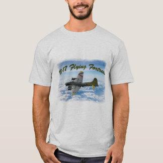 Camiseta Avião do bombardeiro da fortaleza WWII do vôo B17
