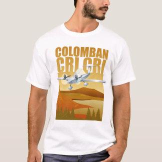 Camiseta Avião gêmeo do motor do CRI do CRI