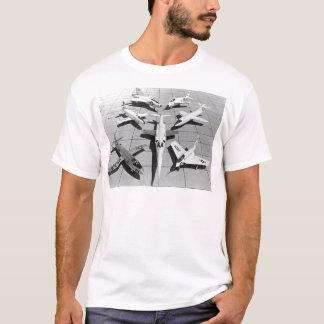 Camiseta Aviões experimentais dos E.U. da primeira geração