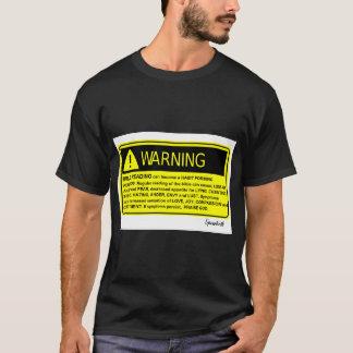 Camiseta Aviso da bíblia!