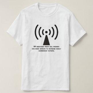 Camiseta Aviso da radiação do RF