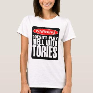 Camiseta Aviso: Não joga bem com Tórios