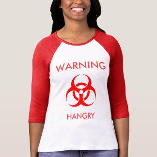 Camiseta Aviso - Tshirt de Hangry