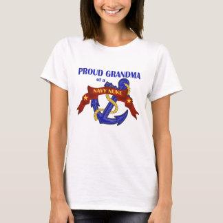 Camiseta Avó de umas armas nucleares do marinho