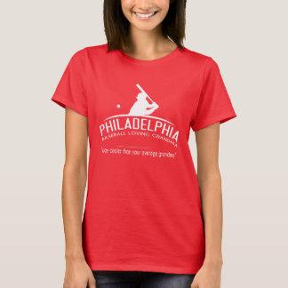 Camiseta Avó Loving do basebol de Philadelphfia -