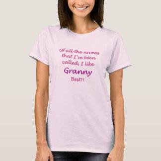 Camiseta Avó melhor