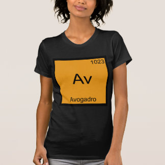 Camiseta Avoirdupois - T engraçado do símbolo da química do