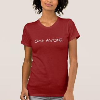 Camiseta AVON obtido?
