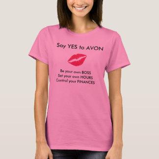 Camiseta Avon que recruta o T