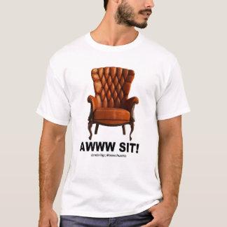 Camiseta Awww senta o T de Cambridge Massachusetts