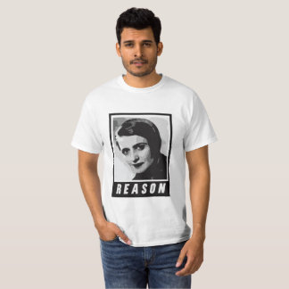 Camiseta Ayn Rand: Razão
