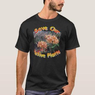 Camiseta Azálea nativa da chama