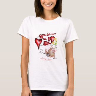 Camiseta azarado no amor, fernandes tony