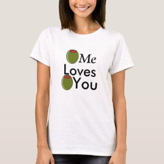 Camiseta Azeitona mim azeitona dos amores você