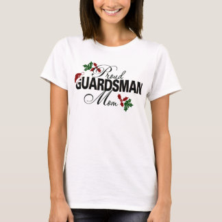 Camiseta Azevinho orgulhoso da mamã da guarda