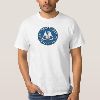 Camiseta Azuis Baton Rouge louisiana do pântano