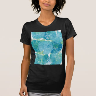 Camiseta Azuis da almofada de lírio
