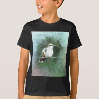 Camiseta azuis do colibri