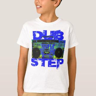 Camiseta Azul Boombox de Dubstep