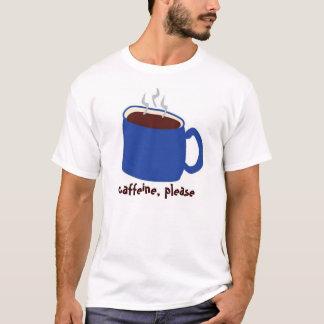 Camiseta Azul da cafeína