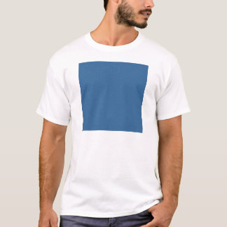 Camiseta Azul da cor da Web do código do Hex #336699