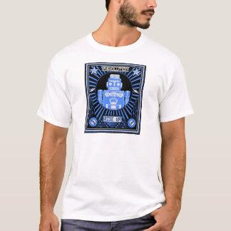 Camiseta Azul da revolta do robô