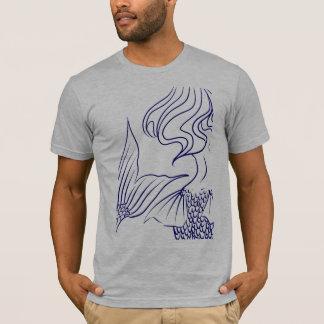 Camiseta Azul da sereia