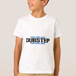 Camiseta Azul de Dubstep Wob Wob