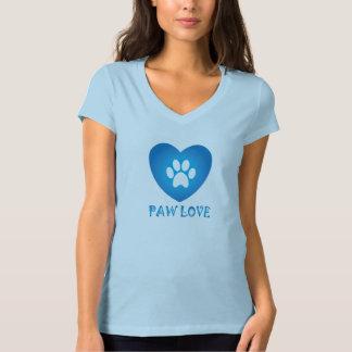Camiseta Azul do amor da pata