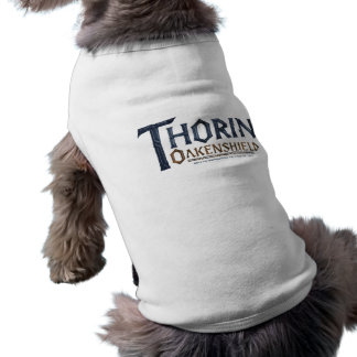 Camiseta Azul do logotipo de THORIN OAKENSHIELD™