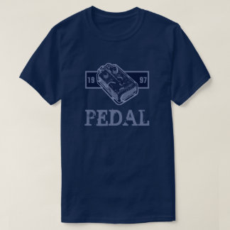 Camiseta Azul do pedal da distorção/azul 1997 de Lite