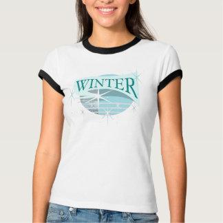 Camiseta Azul do Tshirt | do *BRING IT* do inverno,