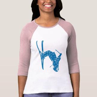 Camiseta Azul-Esquiador